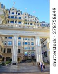 Small photo of Washington, DC - April 11, 2015: The legendary five-star luxury Willard Hotel on Pennsylvania Avenue