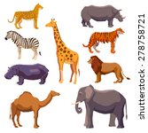 Africa Animal Decorative Set...
