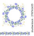 detailed contour wreath and...