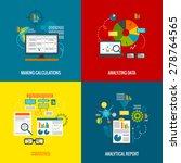 data analytics design concept... | Shutterstock .eps vector #278764565