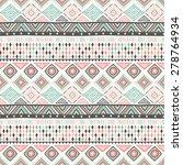 tribal ethnic seamless pattern | Shutterstock .eps vector #278764934