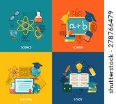 education design concept set... | Shutterstock .eps vector #278766479
