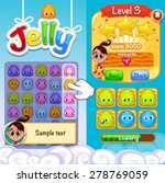interface game design   jelly...