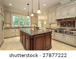 kitchen and island in luxury... | Shutterstock . vector #27877222
