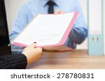 business woman is passing... | Shutterstock . vector #278780831