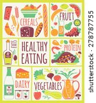 vector illustration of healthy... | Shutterstock .eps vector #278787755