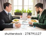 two confident businessmen... | Shutterstock . vector #278791127
