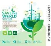 environment infographic | Shutterstock .eps vector #278813054