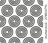 seamless pattern  geometic... | Shutterstock .eps vector #278814791