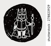 king doodle   Shutterstock . vector #278823929