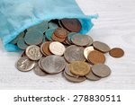close up of a bag of money... | Shutterstock . vector #278830511
