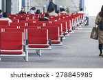 Small photo of Empty Seats in Air Terminal