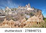 jain temples  mount shatrunjaya ... | Shutterstock . vector #278848721