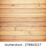 wood plank brown texture... | Shutterstock . vector #278863217
