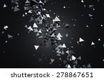 abstract 3d rendering of... | Shutterstock . vector #278867651