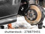 brake repair auto maintenance | Shutterstock . vector #278875451
