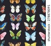 watercolor seamless pattern... | Shutterstock . vector #278878091