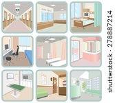hospital | Shutterstock .eps vector #278887214