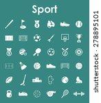 it is a set of sport simple web ... | Shutterstock .eps vector #278895101