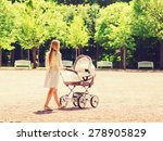 family  child and parenthood... | Shutterstock . vector #278905829