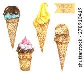vector illustration   set of... | Shutterstock .eps vector #278910419