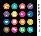 bank icons universal set for... | Shutterstock . vector #278926229