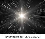 radiated lines on black... | Shutterstock . vector #27892672