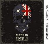 skull color of the flag | Shutterstock .eps vector #278940701