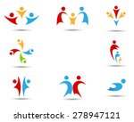 human symbols  | Shutterstock .eps vector #278947121