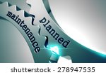 planned maintenance on the...   Shutterstock . vector #278947535