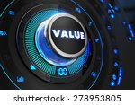 value controller on black