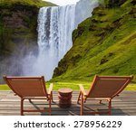 Magnificent Famous Waterfall S...