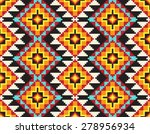 tribal seamless colorful... | Shutterstock .eps vector #278956934