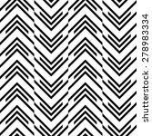 seamless zig zag pattern.... | Shutterstock .eps vector #278983334