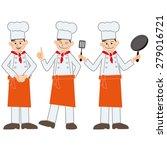 cook | Shutterstock . vector #279016721