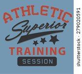 superior training session... | Shutterstock .eps vector #279020591