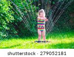 Child Playing With Garden...