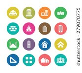 architecture icons universal... | Shutterstock . vector #279070775