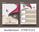 cup cake shop front   back... | Shutterstock .eps vector #279071111