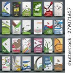 mega collection of roll up... | Shutterstock .eps vector #279071657