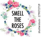 Rose Print Slogan. For T Shirt...