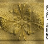 luxury background with embossed ... | Shutterstock . vector #279092909