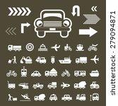 vector basic icon for transport  | Shutterstock .eps vector #279094871
