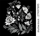 traditional slavs pattern.... | Shutterstock .eps vector #279097895