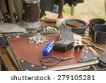 tools a screws for working with ... | Shutterstock . vector #279105281