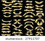 grunge vector musical notes... | Shutterstock .eps vector #27911707
