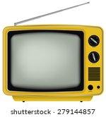 illustration of yellow retro...   Shutterstock .eps vector #279144857