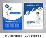 vector health care brochure for ... | Shutterstock .eps vector #279145565