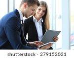 image of business partners...   Shutterstock . vector #279152021