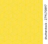 cube grid pattern of slim lines.... | Shutterstock .eps vector #279170897